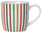 North Pole Stripe Mug