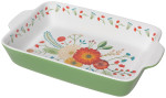 Goldenbloom Decal Baking Dish