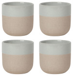 Orb Teacups Gray <br> Set of 4