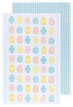 Easter Eggs Dishtowels Set/2