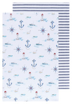 Compass Dishtowels Set/2