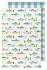 Gone Fishin Dishtowels Set/2