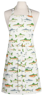 Gone Fishin Chef Apron