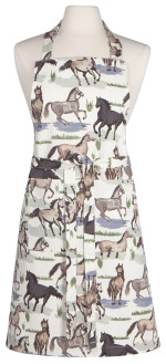 All The Pretty Horses Chef Apron