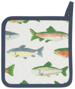 Gone Fishin Potholder