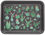 Cacti Willow Veneer Rectangular Tray