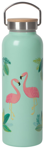 Flamingos Roam Water Bottle