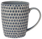 Honeycomb Mug Blue