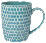 Honeycomb Mug Teal