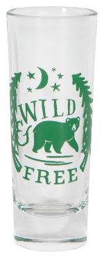 Wild & Free Shot Glass