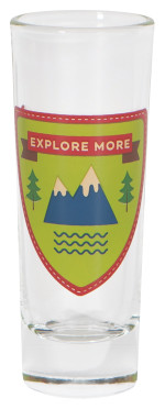 Explore More Shot Glass