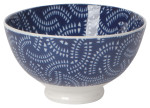 Stamped Bowl 4inch Geo
