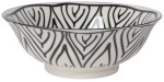 Stamped Bowl 8inch Bloom