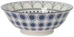 Stamped Bowl 8inch Sun