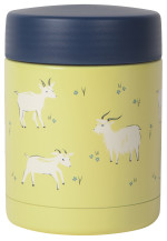 Goats Roam Food Jar Small