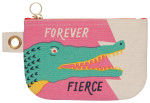 Fierce Small Zipper Pouch