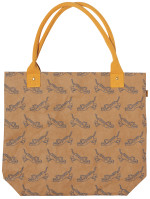 Fierce Tiger Papercraft Tote Bag