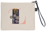 Monogram L Zipper Pouch