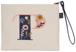 Monogram P Zipper Pouch