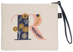 Monogram R Zipper Pouch