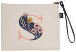 Monogram S Zipper Pouch