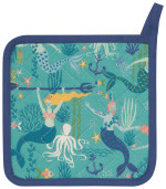 Mermaids Potholder