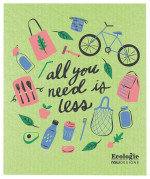 All You Need is Less Ecologie Swedish Sponge Cloth