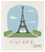 La Tour Eiffel Ecologie Swedish Sponge Cloth