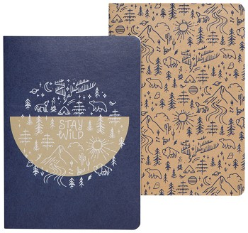 Stay Wild Notebook Set