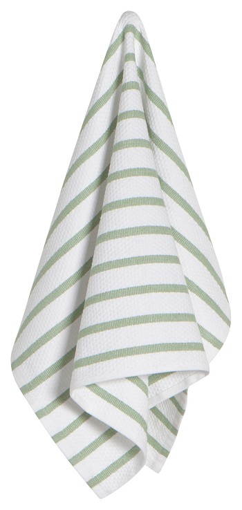 Sage Basketweave Dishtowel