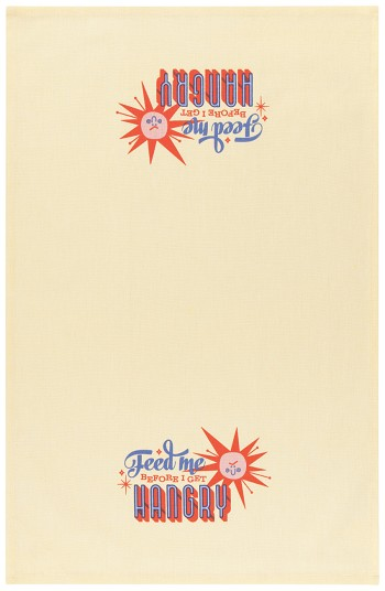 Cheeky Sun Printed Dishtowel