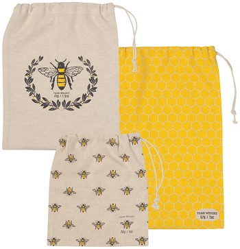 Busy Bee Product Bags Set of 3