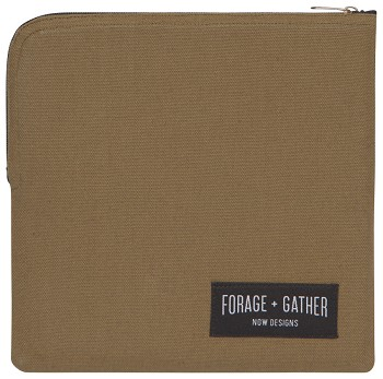 Green Forage & Gather Snack Bag
