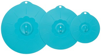 Bali Silicone Lids <br> Set of 3