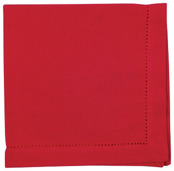Chili Hemstitch Napkin