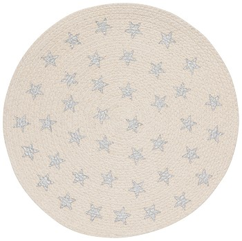 Silver Star Braided Placemat