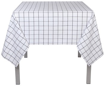 Vintage Wash Check Tablecloth - 60 x 60 inch