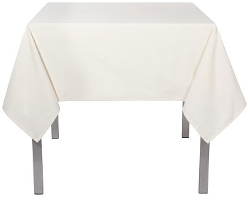 Ivory Renew Tablecloth <br> 55 x 55 inch