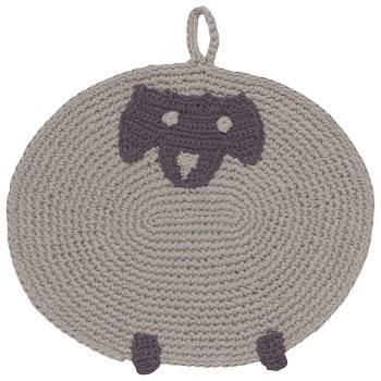 Shirley Sheep Crochet Trivet