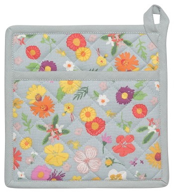 Flowers Of The Month Potholder
