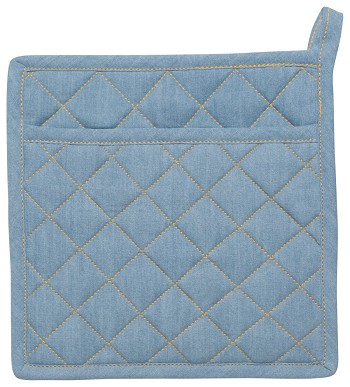 Light Denim Potholder