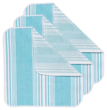Bali Blue Scrub-It Dishcloths <br> Set of 3