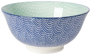 Stamped Bowl - Waves <br> 22 oz