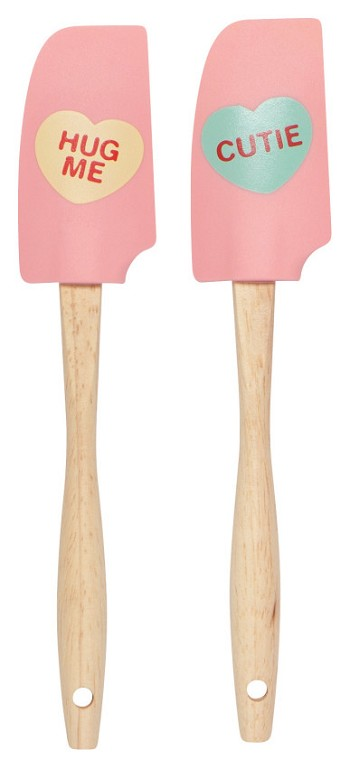 Sweet Hearts Mini Spatula Set of 2