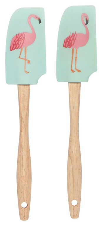 Flamingos Mini Spatula Set of 2