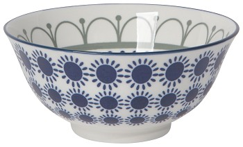 Stamped Bowl 6inch Sun