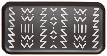 Ziggy Willow Wood Large Tray