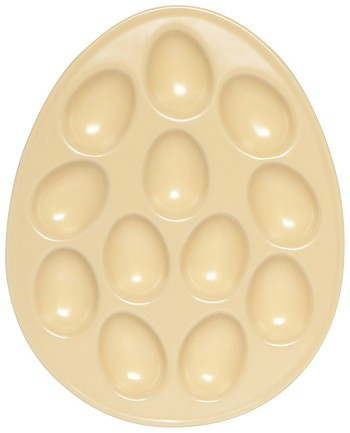 Deviled Egg Tray Yellow